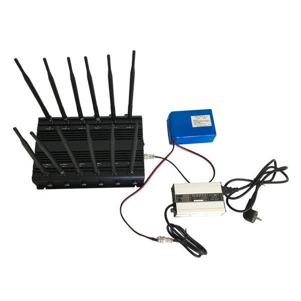 CPB-2090 Series Mobile Phone/WiFi/GPS L1/L2/L3/L4/L5/VHF/UHF/4G Jammer 12 Bands with Car Charger