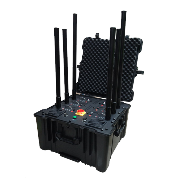 PCB-5080 5081 6081 6 Bands 660W Portable Mobile Phone Pelican Jammer
