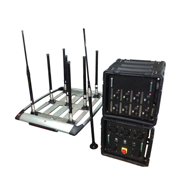 DDS-8028 8 Bands 590W Portable Mobile Phone Pelican Jammer