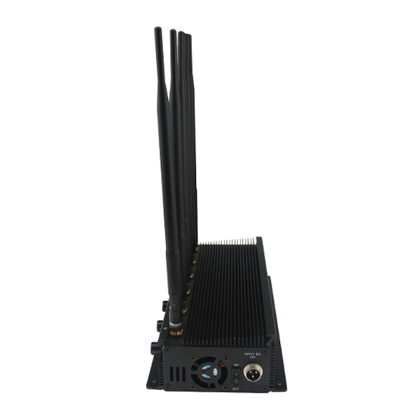 CPB-2060 Mobile Phone/WiFi/GPS L1/L2/L3/L4/L5/VHF/UHF/4G Jammer 6 Bands with Car Charger Adjustable