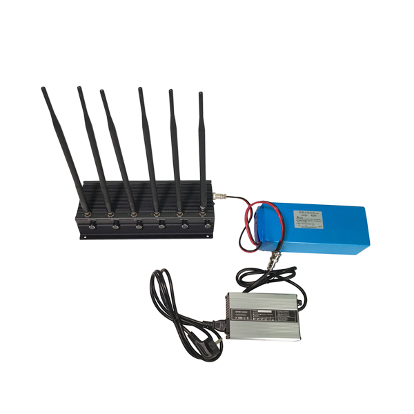 CPB-2061B 2062B 16W 6 Bands  4G Mobile Phone WiF GPS UHF VHF Built-in Battery Jammer