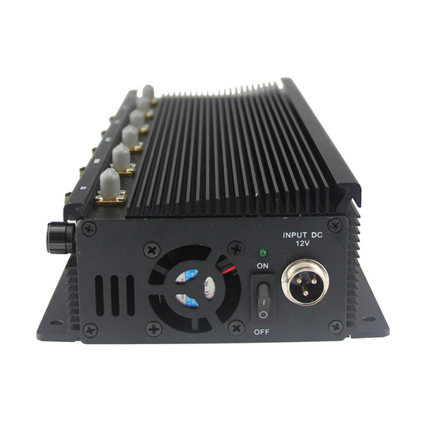 CPB-2060B Mobile Phone/WiFi/GPS L1/L2/L3/L4/L5/VHF/UHF/4G Jammer 6 Bands with Car Charger 2 Hours Bu