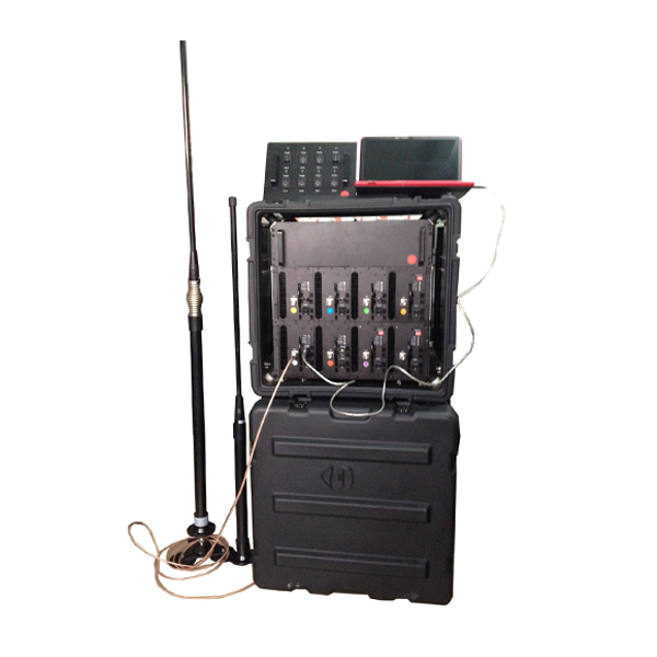 DDS-8028C Military/Police/Government/Convoy Jamming Portable RCIED Mobile Phone Pelican Jammer 20MHz -2700MHz, Max 590W, 8 Bands