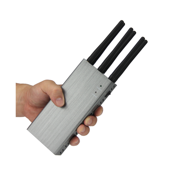 PCB-1066L Mobile Phone / WiFi / GPS L1 / L2 / L3/ L4/ L5/ Lojack/ 4G Jammer 6 Bands with Car Charger 7W Total Output Power, 3 Hours