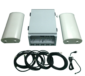 CPB-5046 Prison Cell Phone Jammer  with External Antennas 600W