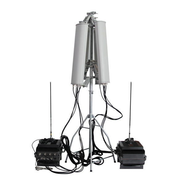 ADJ-3087-HGA-433 Anti-Drone Jammer 7 Bands, Cover 180 Degrees 100% Waterproof for Outdoor