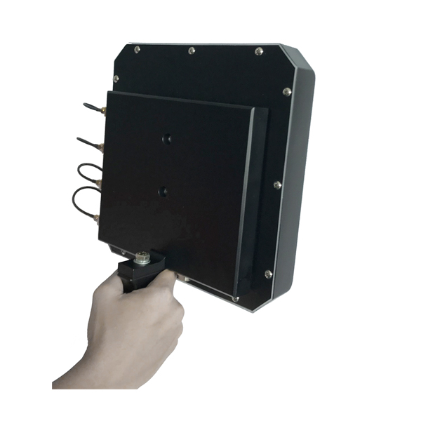 PDJ-3071 Portable Anti-Drone Jammer Max 28W, 4 Bands,   80 mins Built-in Battery 4 Bands in One Directional Antenna