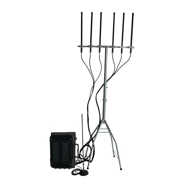 ADJ-3080M-OMN Series Anti-Drone Jammer (ADJ) 4/ 5/ 6/ 8 Bands, Omni Antennas Waterproof for Outdoor