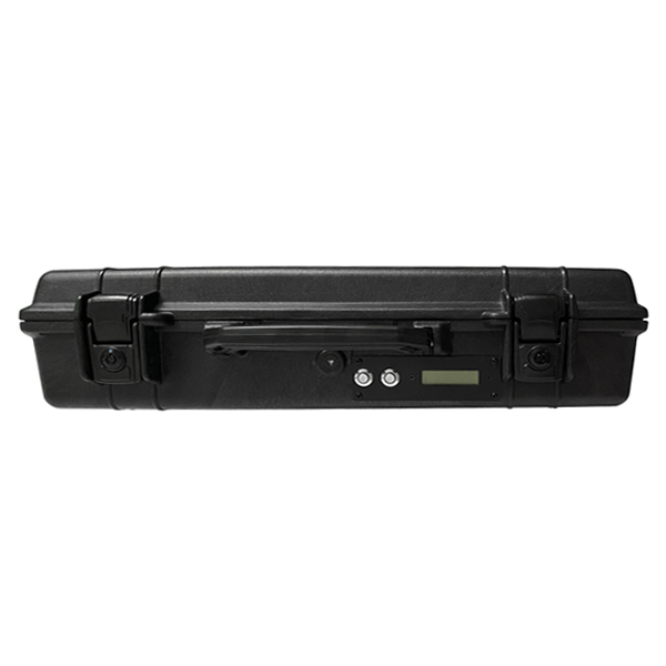 PDJ-3073H Anti-Drone Jammer Pelican 1490 Case Max 85W, 3 Bands, 5.8GHz 15W Total 85W 1000-3000m Jamming Range