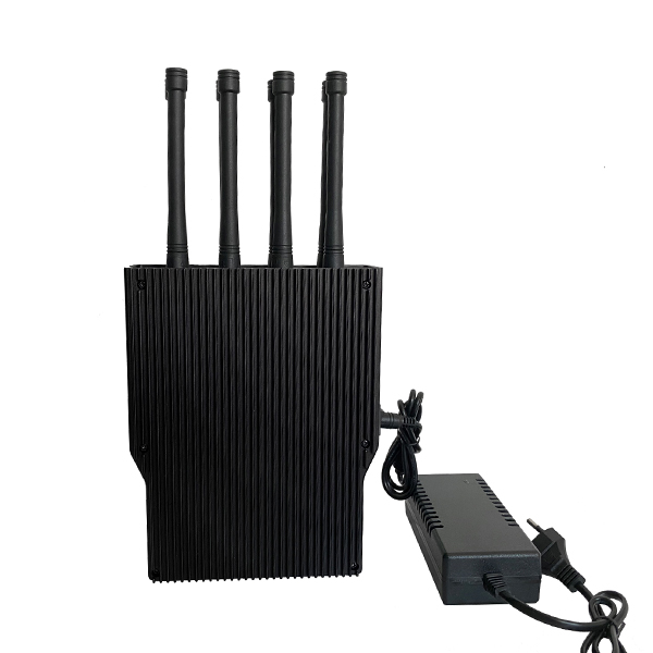 PCB-2048 New 8 Bands 69W Handheld Mobile Phone Jammer 8-10W Per Band All Cell Phone 2G / 3G / 4G / 5G State Art Aluminum